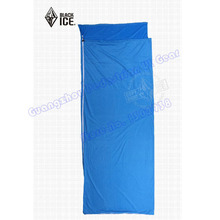 Black Ice high quality envelope summer inner sleeping bag