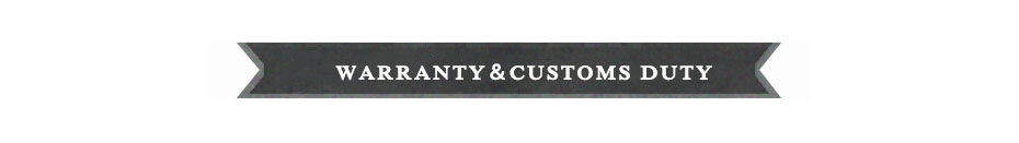 customs duty