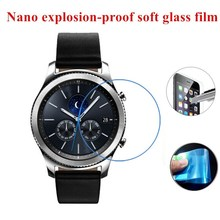 Nano Explosion-proof (Soft Glass) Clear Screen Protector Front Protective Film for Samsung Gear S3