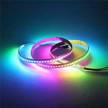 3.2ft WS2812B Individually Addressable Digital RGB LED Strip 144 Pixels High Density Magic Dream Color Programmable LED Pixel R