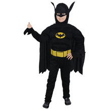 New Masquerade Batman Costumes Halloween Costumes Children's Batman Suit Batman Anime Outfit Performance Clothing