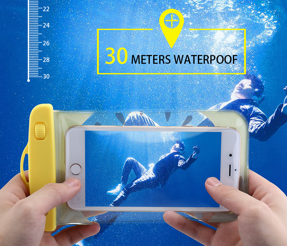 KISSCASE Waterproof Case For iPhone 6 7 Plus Samsung S7 S8 Huawei P8 P9 P10 Lite Redmi 4x Cases Silicon Summer Phone Bags Cover (4)