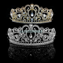 Wedding Bridal Princess Rhinestone Tiara Crown Headband Women Hair Accessories #Y51#