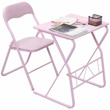 Buy Goplus Kids Folding Table Chair Set Modern Pink Wood Study Writing Desk Portable Student Children Home School Desk Chair HW54325 for $45.99 in AliExpress store