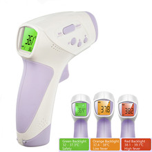 Muti-fuctionS Baby/Adult Digital ThermometeR Infrared Forehead Body Thermometer Gun Non-contact Temperature Measurement Device(China)