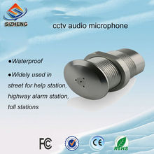 SIZHENG outdoor waterproof CCTV sound pickup sensitive audio monitoring microphone surveillance listening device
