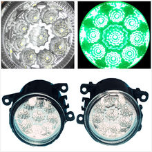 LED Green Fog Lights Lamps Car-Styling For FORD TRANSIT CUSTOM FOCUS MK2 MK3 AUSTRALIA FALCON GRAND C-MAX FIESTA Van 1994-2013(China)
