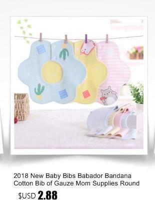 New Baby Bibs 360 Degree Round child Baby Waterproof Saliva Towel Cotton Fit 0-2 Years Infant Burp Cloths Feeding