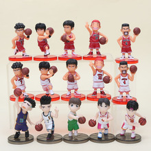 15Pcs/lot Slam Dunk Figures Japan Anime PVC Action Figure Toys Model Figurine Collection