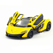 1:36 KINSMART Car Model Toy, Diecast Metal & ABS Racing Cars, Miniature Vehicle Models, Boys Gift Toys For Children Juguetes