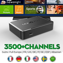 MAG 250 Smart Iptv HD Set Top Box IPTV Box Linux Media Player with Arabic IPTV SUBTV 3500+Channels Europe French TV Receivers