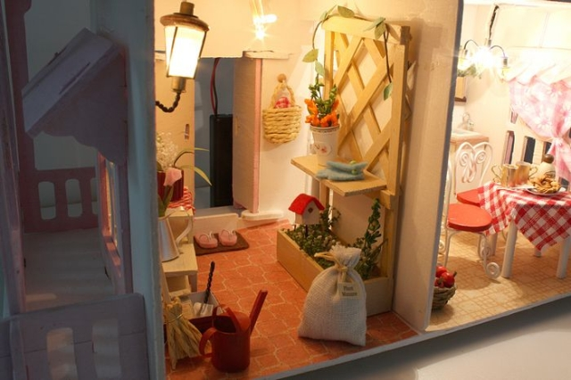13007 DIY doll house gift (3)