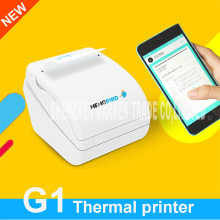 New Mini Mobile app printing small ticket printer G1 wireless network printing mobile phone photo bill printing thermal printer