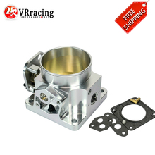 VR RACING - FREE SHIPPING BILLET CNC 75MM THROTTLE BODY FOR 86-93 FORD MUSTANG GT COBRA LX 5.0 VR6958S
