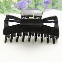 Free Shipping Fashion women's  big size black hair gripper girl's hairs claws clip hairpin hair accessory