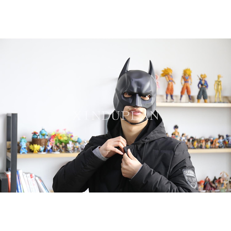 XINDUPLAN DC Comics Justice League Movie Batman Mask Cosplay Props Action Figure Toys 21cm 1/1 PVC Kids Collection Model 0495<br>