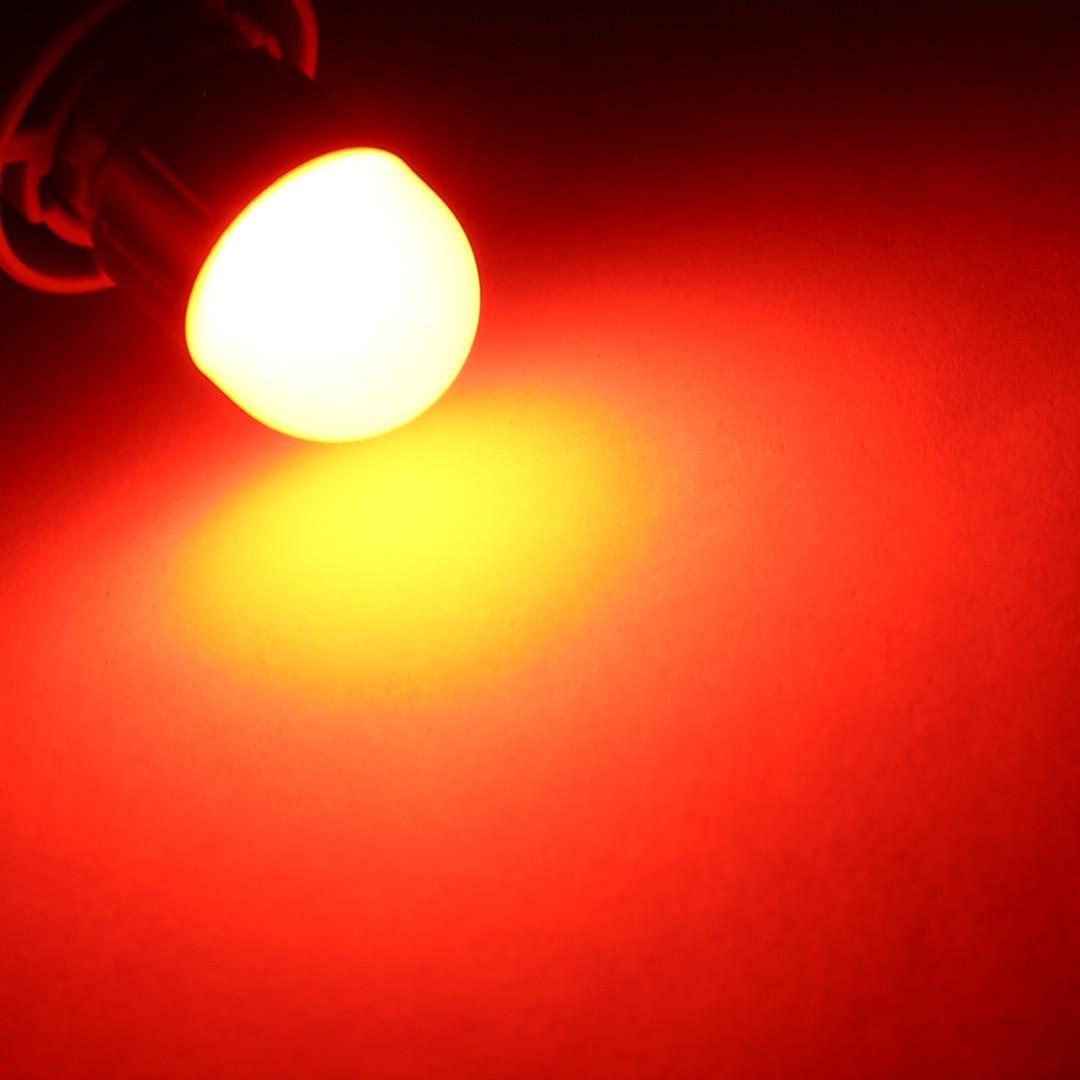 Mayitr 2pcs 1157 P21/5W BAY15D Brake Stop Lamp 10W 900LM Red SRCK Head Car Backup Reverse Lights for Car Light Source