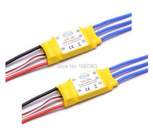 30A Brushless Motor Speed Controller Control RC BEC ESC for T-rex 450 Helicopter(China)