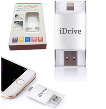 Fast speed i-Flash Drive U-disk USB Stick for iPhone 7 7plus 5C 5S 6 6S 6S plus/iPad Air MiNi Air 2 MiNi 2 for PC/MAC 32G/64G(China (Mainland))