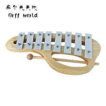 Orff World Baby Musical Teaching Aid Children Kids Toys 8 Notes Wooden Xylophone Early Childhood Music Instrument Xylophone