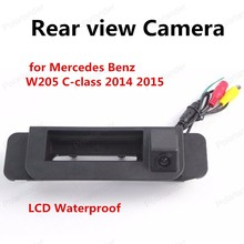 best selling Night Vision Trunk Handle Rearview camera Backup Camera for Mercedes Benz W205 C-class 2014 2015