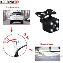Buy Koorinwoo Car Rear View Camera / Front cam Switching function LED Light Night Vision Reversing Backup Camera Parking System for $4.95 in AliExpress store