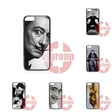 For Apple iPhone 4 4S 5 5C SE 6 6S 7 7S Plus 4.7 5.5 Soft TPU Silicon Design Salvador Dali Famous Painter