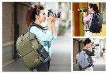 SY07 Professional Waterproof Outdoor Bag Backpack DSLR SLR Camera Bag Case Black Nikon Canon Sony Pentax Fuji