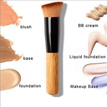 New Type 1Pcs Multi-Function Pro Natural Makeup Brushes Powder Concealer Blush Liquid Foundation Make up Brush Set