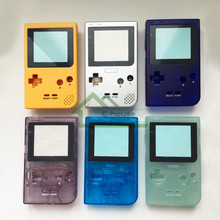 5pcs Full Housing Shell Replacement for Nintendo Game boy Pocket Game Console for GBP Case Cover with Buttons Kit