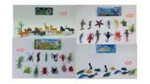 New Forest Wild Animals Sea Ocean animal Insects Toys Nature World 40packs/lot