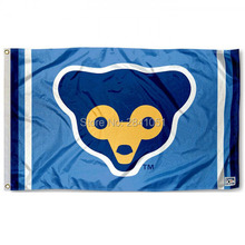 3 Color Chicago Cubs Throwback Vintage Outdoor Indoor Baseball College Flag 3X5 Custom Any Flag(China)