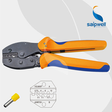 European Style Crimp Plier Connector Crimp Tool / 1.0~6.0mm 22-10 AWG Ratchet Crimp Grip Plier (SP-FSE-04WF)(China)
