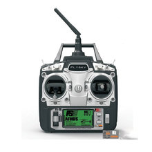 Free shipping Flysky FS-T6 FS T6 6ch 2.4g with LCD Screen Transmitter + FS R6B Receiver For RC Helicopter AirPlane(China)