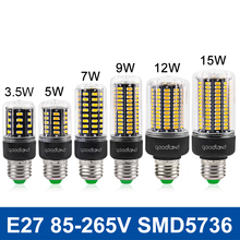 LED Lamp E27 LED Corn Bulb SMD5736 AC 110V 220V LED Light 3.5W 5W 7W 9W 12W 15W LED Bombillas