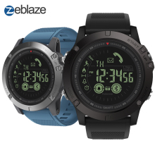 Zeblaze Rugged Smartwatch VIBE Android 3-Flagship 33-Month for IOS Standby-Time All-Weather-Monitoring