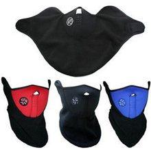 Party Supplies New 3 color Sport Half Face Mask Winter Warm Outdoor Ski Ride Bike Cap CS Neoprene Bicycle Cycling Neck Veil