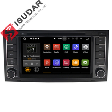 Wholesales! 7 Inch Android 7.1.1 Car DVD Player For VW/Volkswagen/Touareg With Canbus Wifi GPS Navigation Bluetooth Radio(China)