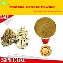 500g(17.63oz) WILD RAW MAITAKE MUSHROOM Grifolan Extract Powder >50% Polysaccharide(China)