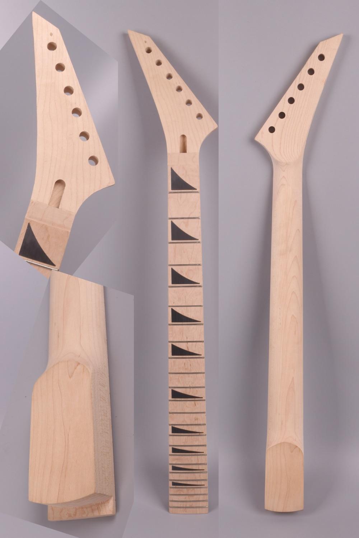 left hand Electric guitar neck 22 fret 25.5 Maple wood  MAPLE  Fretboard     Floyd rose nut  JK- 014<br>