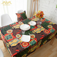 Bohemia Style Top Grade Table Cloth for Wedding Home Dinning Picnic Printed Elegant Table Covers Wholesale toalha de mesa #71463