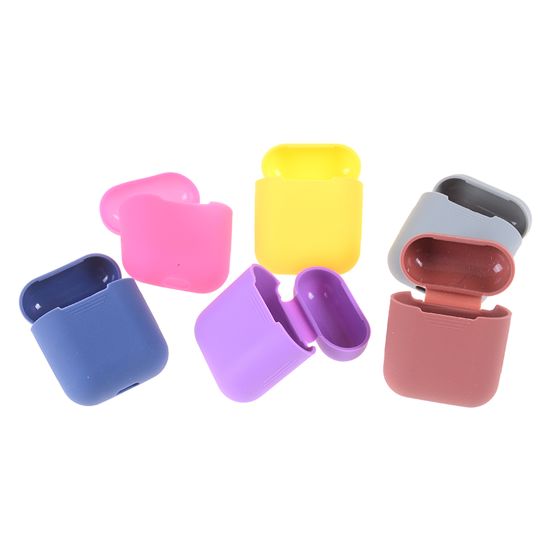 Soft Silicone Earphone Case For Airpods Strap Headphone Case Earphone Accessories Protective Wireless Bluetooth Cover