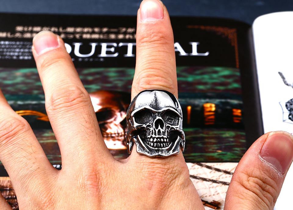 แหวนโคตรเท่ห์ Code 026 แหวนกะโหลก โหดสัดรัสเซีย 6
