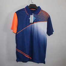Free Print New badminton shirt Men/ Women Quick Dry breathable Tshirt , Tennis shirt , table tennis shirt 1008(China)
