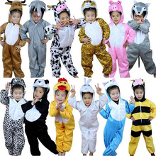 Halloween Cartoon Children Kids Animal Costume Cosplay Clothing Dinosaur Tiger Elephant Animals Costumes Jumpsuit for Child