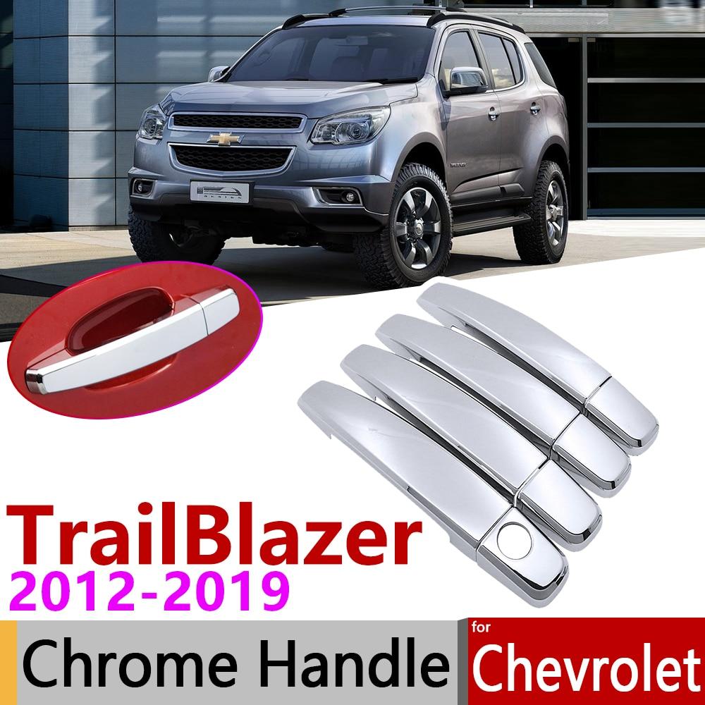 TAIL GATE HANDLE COVER CHROME FOR CHEVROLET HOLDEN TRAILBLAZER 2013-2018