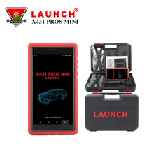 Two Years Free Update OBDII Scanner Launch X431 Pros Mini Replace X431 Diagun III or X431 IV With Fuel Injector Coding(China)