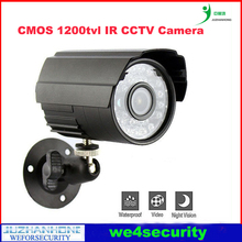 Outdoor IR CCTV Camera CMOS 1200TVL Night Vision Security Camera,Home Office Secruity Surveillance Camera,IR Bullet Camera(China)