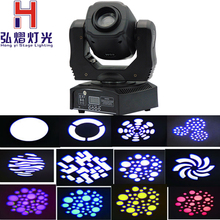 (1 pieces/lot) 60 watt moving head dmx 512 controller dj gobo night club lighting(China)