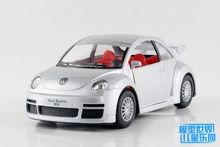 1 PC 12.5cm Alloy model car toy 1:32 mass policeman cars beetle 1967 vintage children gifts